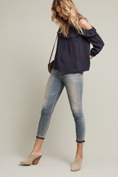 Maeve Brearly Open Shoulder Top Navy