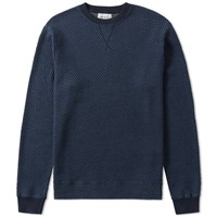 Oliver Spencer Helder Crew Sweat Blue