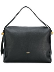 Max Mara Logo Tote Bag Black