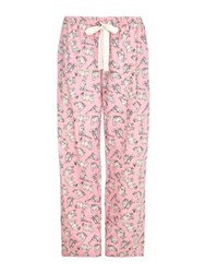 Yumi Cat Pj Bottoms Pink