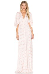 Rachel Pally Long Caftan Dress White