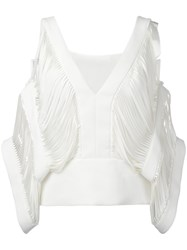 Tom Ford 'Tops' Top White