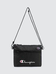 Champion Reverse Weave Small Shoulder Bag Black
