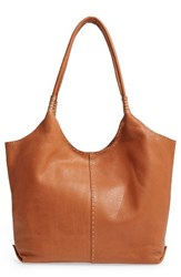 Frye Naomi Leather Shoulder Bag Brown Whiskey