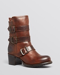 Frye Vera Strappy Boots Bloomingdale's Exclusive Brown
