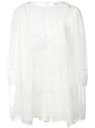 Alice Mccall Controversy Dress Women Polyester 12 White