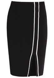 Morgan Jona Pencil Skirt Noir Dark Blue