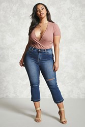 Forever 21 Plus Size Flared Ankle Jeans
