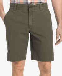 G.H. Bass And Co. Men's Canvas Terrain Cotton Shorts Olive Night