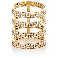 Repossi Women's Berbere 4 Band Cage Ring Gold No Color Gold No Color