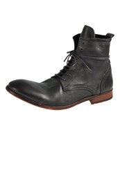 Hudson H By Swathmore Laceup Boots Grey