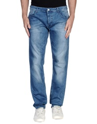 Ice Iceberg Denim Pants Blue