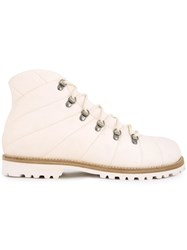 Peter Non Mountain Boots White