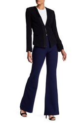 Nicole Miller Nina Stretch Tech Wide Leg Pant Blue