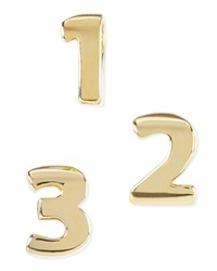 14K Gold Plated Number Charm Kendra Scott