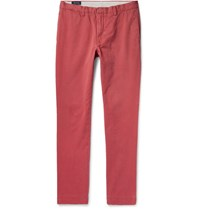 Polo Ralph Lauren Slim Fit Brushed Cotton Twill Chinos Red