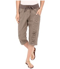 Xcvi Naida Crop Pants Mink Women's Casual Pants Brown