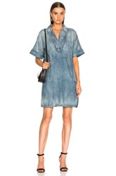 Ag Adriano Goldschmied Amanda Dress In Blue