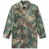 Mackintosh Nylon Camouflage Mac Green