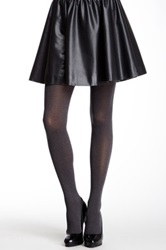 Hue Ultimate Opaque Control Top Tights Gray