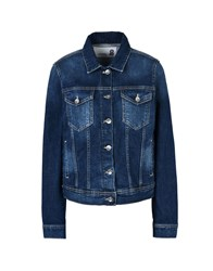 8 Denim Denim Outerwear Blue