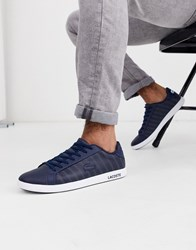 Lacoste Graduate Trainer In Navy