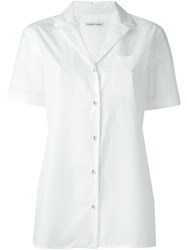 Tomas Maier Short Sleeve Shirt White