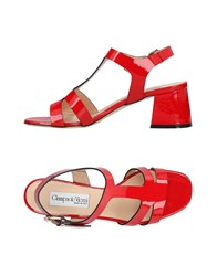Giampaolo Viozzi Sandals Red
