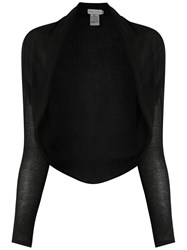 Mara Mac Knitted Cardigan Black