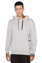 Zanerobe Hooded Sweatshirt Gray