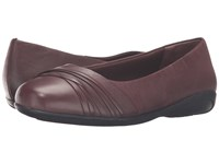 Walking Cradles Flick Tobacco Waxy Wash Leather Women's Slip On Shoes Brown