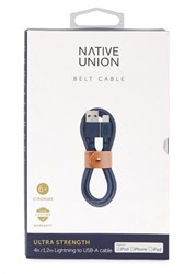 Native Union Belt Navy Charging Cable Multicoloured