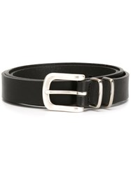 Eleventy Buckled Belt Black