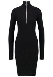 Minimum Rilla Jumper Dress Black