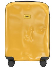 Crash Baggage 40L 4 Wheel Icon Cabin Carry On Trolley Mustard