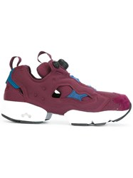 Reebok 'Instapump Fury' Sneakers Red