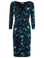 Kaliko Printed Jersey Dress Multi Green