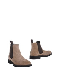 Doucal's Ankle Boots Beige
