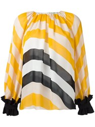 Fendi Striped Blouse