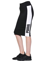 Puma Select Logo Printed Jersey Skirt