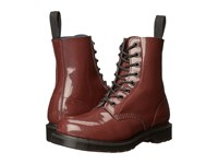 Dr. Martens Pascal 8 Eye Boot Oxblood Petrol Women's Lace Up Boots Brown