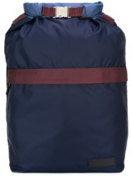 Marni Colour Block Backpack Blue