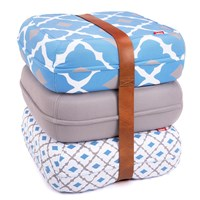Fatboy Floor Cushions Baboesjka Set Persian Blue