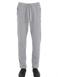 Dolce And Gabbana Crown Embroidered Cotton Jogging Pants