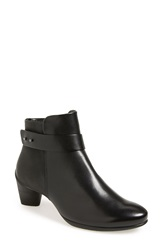 Ecco 'Sculptured 45' Ankle Boot Women Black