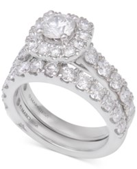 Marchesa Diamond Bridal Set 3 Ct. T.W. In 14K White Gold
