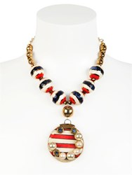 Sonia Boyajian Gypsy Sunset Gold Plated Necklace
