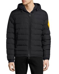 Moncler Dinard Hooded Puffer Jacket Black