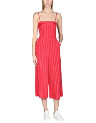 Armani Exchange Jumpsuits Red
