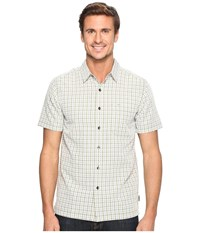 Royal Robbins Mojave Pucker Plaid Short Sleeve Desert Men's Short Sleeve Button Up Beige